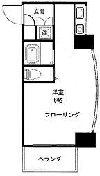 TKビル[6階]の間取り