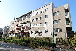 東京都世田谷区弦巻1丁目の賃貸マンションの外観