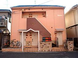 神奈川県川崎市高津区瀬田の賃貸アパートの外観