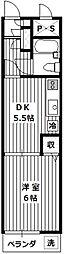 煉瓦館33[103号室]の間取り