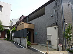 東京都渋谷区東2丁目の賃貸アパートの外観