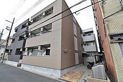 大阪府大阪市城東区永田3丁目の賃貸アパートの外観