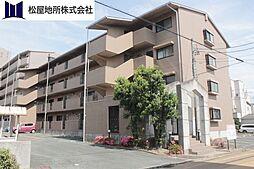 愛知県豊橋市菰口町2丁目の賃貸マンションの外観