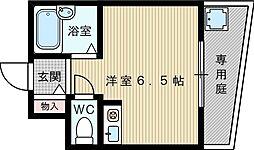 メゾンアンティーム[4階]の間取り
