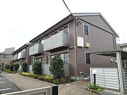 埼玉県川口市大字久左衛門新田の賃貸アパートの外観