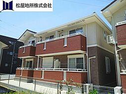 愛知県豊橋市牟呂町字大塚の賃貸アパートの外観