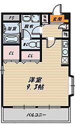 静風ハイツ[3階]の間取り