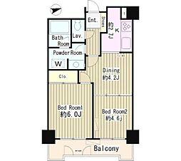 WOOD PALACE[3階]の間取り