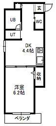 フォレストタワー35[802号室]の間取り