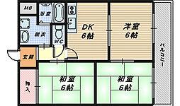 リバティー泉ヶ丘[3階]の間取り