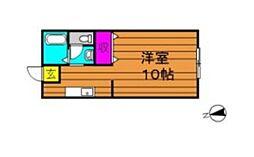 片島サンプラザ[103号室]の間取り