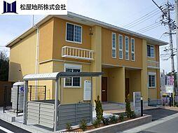 愛知県豊川市上野3丁目の賃貸アパートの外観