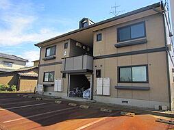 新潟県燕市白山町3丁目の賃貸アパートの外観
