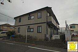 東京都江戸川区西一之江2丁目の賃貸アパートの外観
