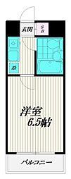 トレンタハウス桜新町[305号室]の間取り