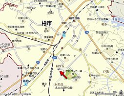 千葉県柏市ひばりが丘の賃貸マンションの外観