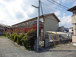 東京都八王子市丹木町1丁目の賃貸アパートの外観