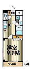 鎌倉みさお館[1階]の間取り