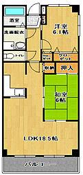 モバマンション[4階]の間取り