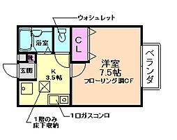 I−ESPACE[1階]の間取り