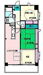 相原第二ルネスビル[4階]の間取り