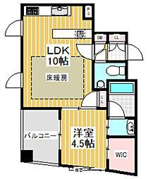 東京都杉並区阿佐谷南1丁目の賃貸マンションの間取り