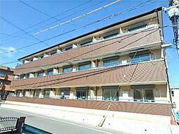 東京都日野市三沢の賃貸マンションの外観