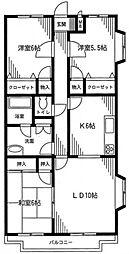しゅうあん5[3階]の間取り