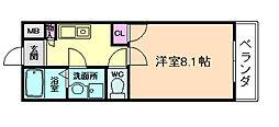 ODESSA北梅田[7階]の間取り