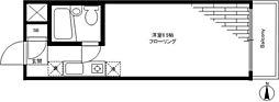 ロワール駒沢[2階]の間取り