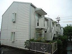 愛知県名古屋市名東区高針4丁目の賃貸アパートの外観