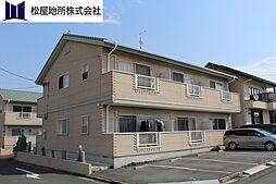 愛知県豊橋市弥生町字中原の賃貸アパートの外観
