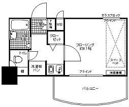 ライオンズマンション大濠第3[505号室]の間取り