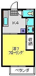 メイゾン岩村[2階]の間取り