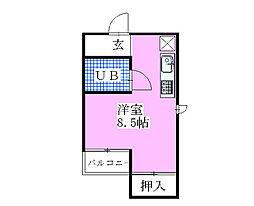 船橋プレイス[4階]の間取り