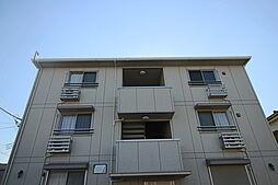 千葉県市川市下貝塚2丁目の賃貸アパートの外観