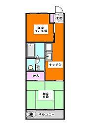 パークハイツ徳丸[2階]の間取り