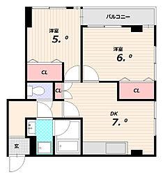 北池ビル[5階]の間取り