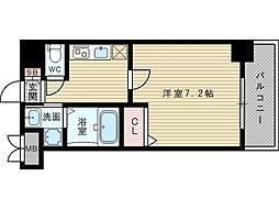 ASTIA新大阪III[3階]の間取り