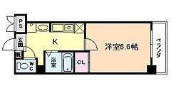 プレアデス野田[3階]の間取り