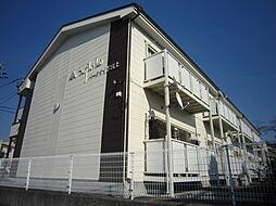 愛知県豊田市宮上町2丁目の賃貸アパートの外観