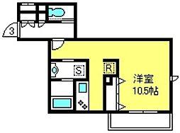 エスポワール メゾン[2階]の間取り