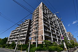 ウィズパーク大阪ガーデンコート[9階]の外観