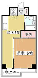 コーポあずみの[2階]の間取り