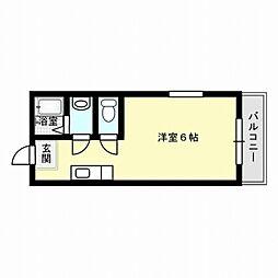 福岡県福岡市西区愛宕2丁目の賃貸アパートの間取り