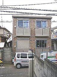 東京都中野区若宮2丁目の賃貸アパートの外観