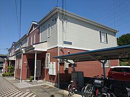 滋賀県大津市仰木の里東7丁目の賃貸アパートの外観