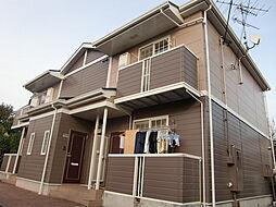 埼玉県入間市大字新久の賃貸アパートの外観