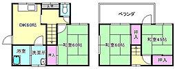 [テラスハウス] 大阪府枚方市小倉町 の賃貸【大阪府 / 枚方市】の間取り