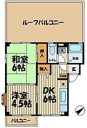 COMFORTS32[4階]の間取り
